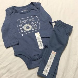 2-piece lion 🦁 outfit for baby 👶🏻